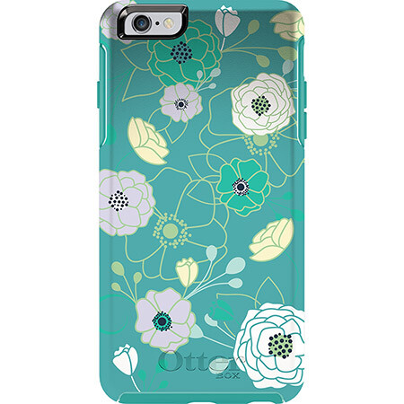 Чехол Otterbox Symmetry Series Eden Teal для iPhone 6 Plus/6s Plus