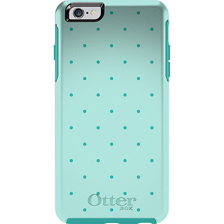 Чехол Otterbox Symmetry Series Aqua Dot для iPhone 6 Plus/6s Plus