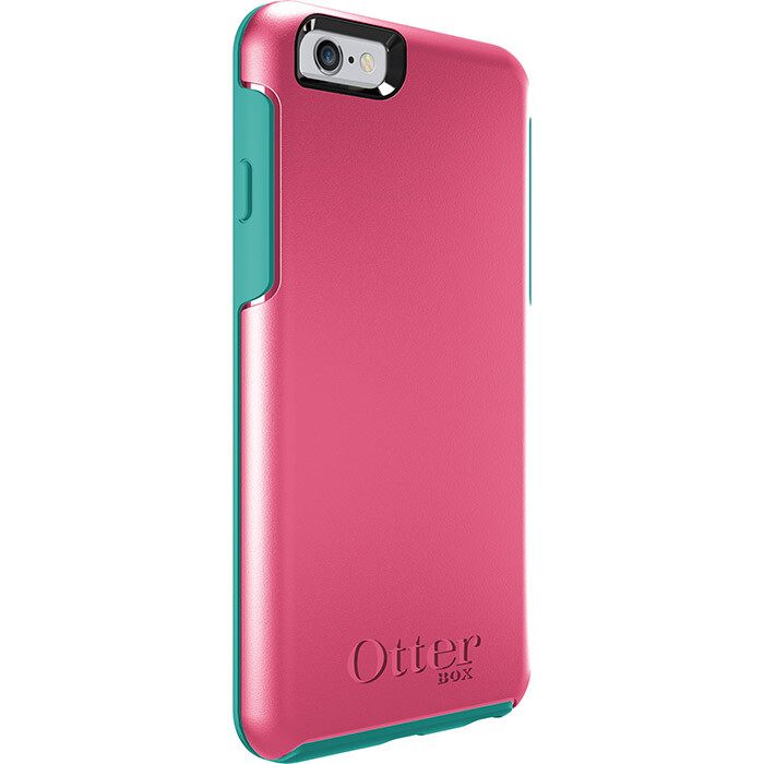 Чехол Otterbox Symmetry Series Teal Rose для iPhone 6/6s