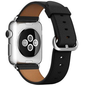 Купить Ремешок Apple 38mm Black Classic Buckle (MMH82/MLHG2) для Apple Watch Series 1/2
