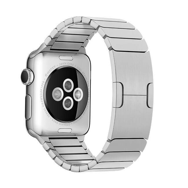 Ремешок Apple 38mm Link Bracelet Silver (MJ5G2) для Apple Watch