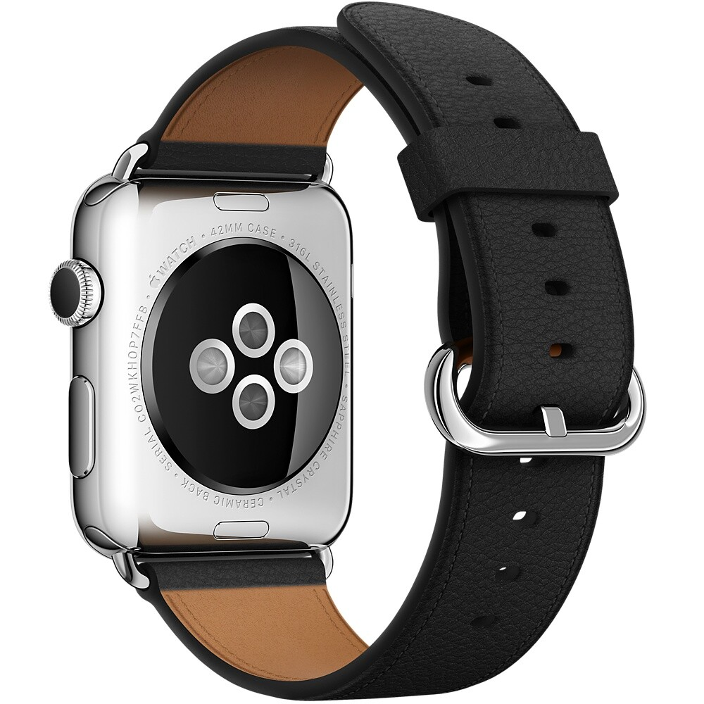 Ремешок Apple 42mm Black Classic Buckle (MMHD2) для Apple Watch Series 1/2