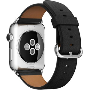 Купить Ремешок Apple 42mm Black Classic Buckle (MMHD2) для Apple Watch Series 1/2