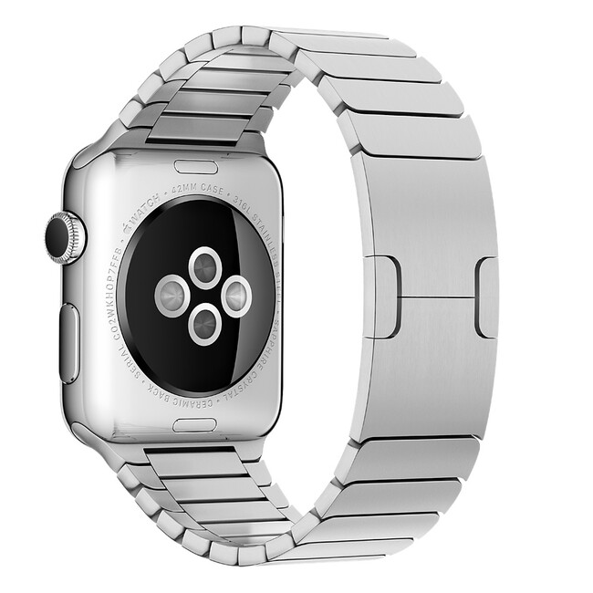 Ремешок Apple 42mm Link Bracelet Silver (MJ5J2) для Apple Watch