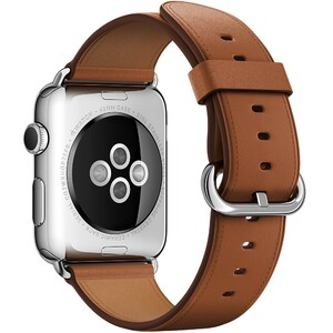 Купить Ремешок Apple 42mm Saddle Brown Classic Buckle (MMHE2) для Apple Watch