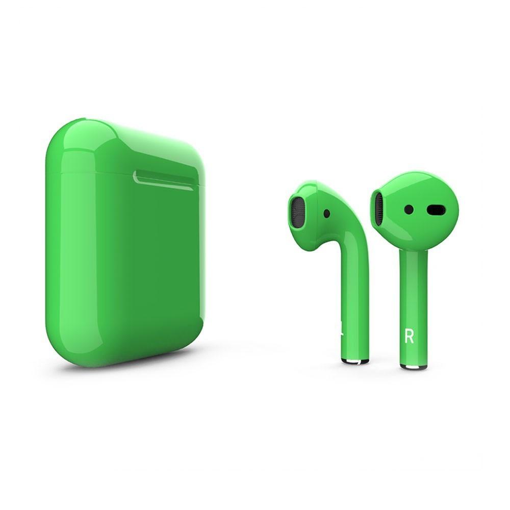 Купить Беспроводные наушники Apple AirPods 2 Grass Green (MV7N2)