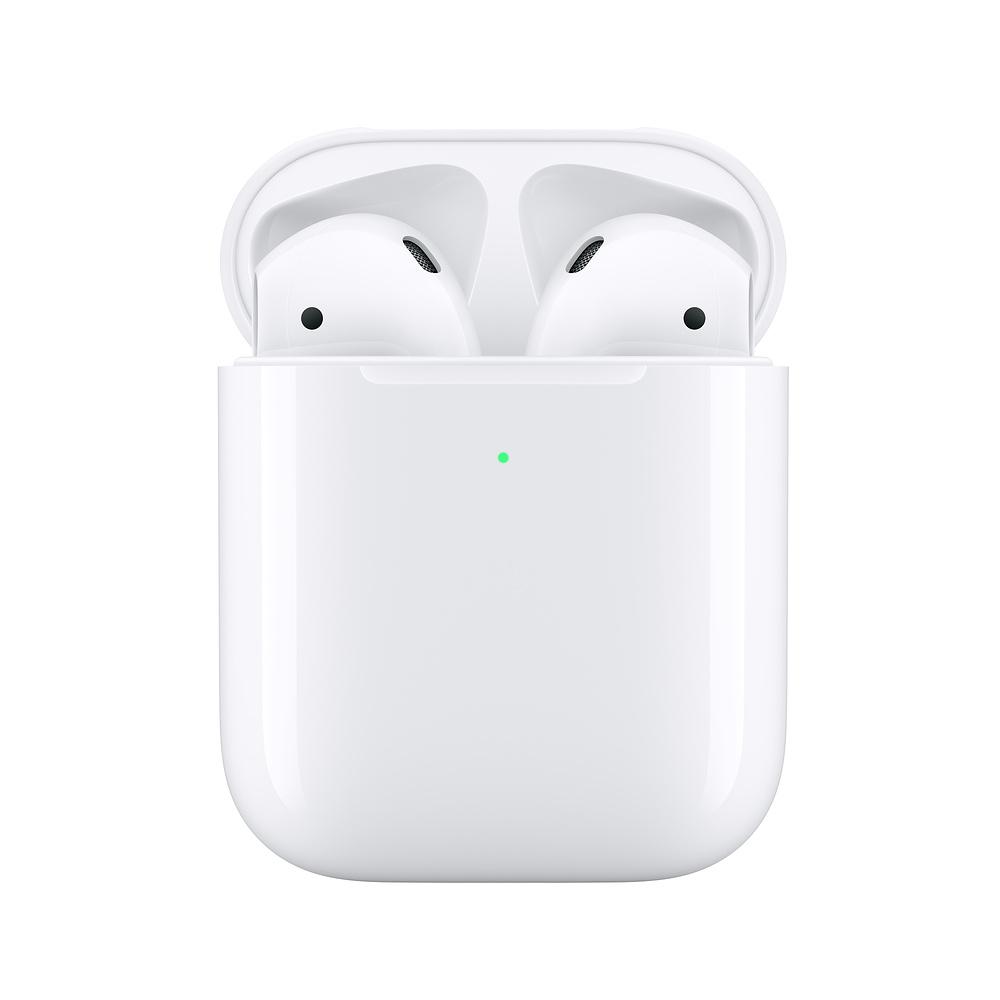 Купить Беспроводные наушники Apple AirPods 2 с беспроводной зарядкой (MRXJ2)