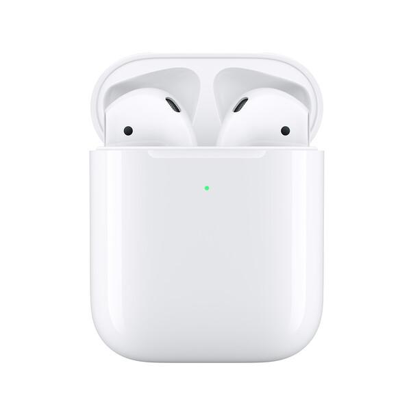 Беспроводные наушники Apple AirPods 2 с беспроводной зарядкой (MRXJ2)