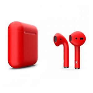 Купить Красные матовые наушники Apple AirPods
