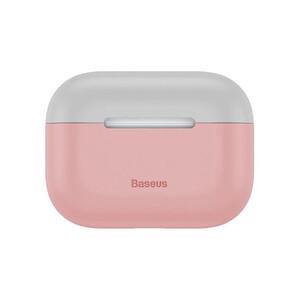 Купить Силиконовый чехол для Apple AirPods Pro Baseus Super Thin Silica Gel Pink/Gray