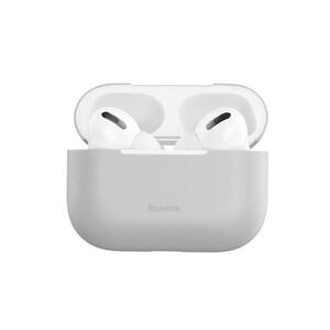 Купить Силиконовый чехол для Apple AirPods Pro Baseus Super Thin Silica Gel Gray