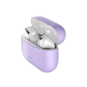 Купить Силиконовый чехол для Apple AirPods Pro Baseus Super Thin Silica Gel Purple