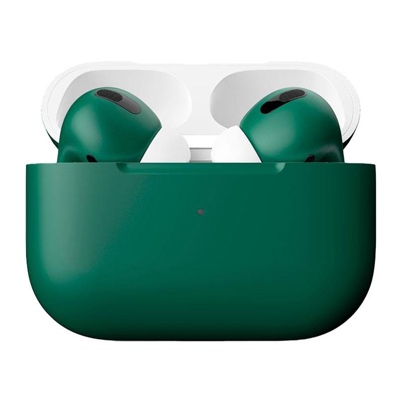 Купить Матовые беспроводные наушники Apple AirPods Pro Midnight Green (MWP22)