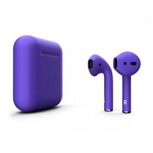 Купить Фиолетовые матовые наушники Apple AirPods
