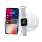 Беспроводная зарядка oneLounge AirPower White для iPhone/Apple Watch/AirPods OEM