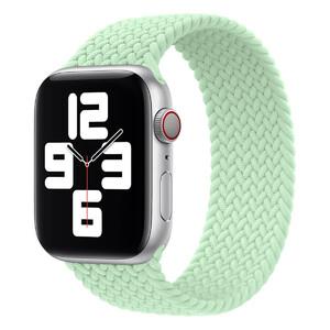 Купить Плетеный монобраслет Apple Braided Solo Loop Pistachio для Apple Watch 44mm | 42mm (MJJN3) Размер 10