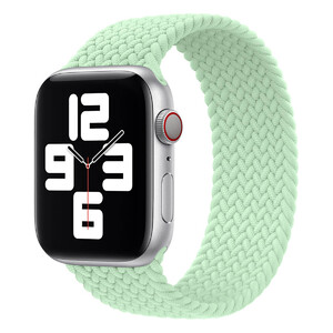 Купить Плетеный монобраслет Apple Braided Solo Loop Pistachio для Apple Watch 44mm | 42mm (MJJQ3) Размер 12
