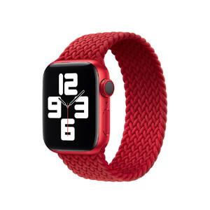 Купить Плетеный монобраслет Apple Braided Solo Loop (PRODUCT) Red для Apple Watch 40mm | 38mm (MY7K2) Размер 5