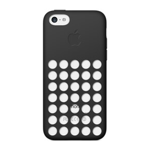 Купить Чехол Apple Silicone Case Black (MF040) для iPhone 5C