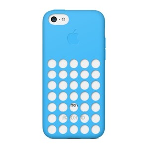 Купить Чехол Apple Silicone Case Blue (MF035) для iPhone 5C