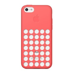 Купить Чехол Apple Silicone Case Pink (MF036) для iPhone 5C