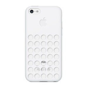 Купить Чехол Apple Silicone Case White (MF039) для iPhone 5C