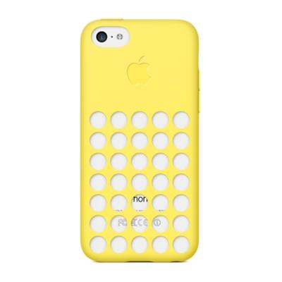 Чехол Apple Case для iPhone 5C Желтый