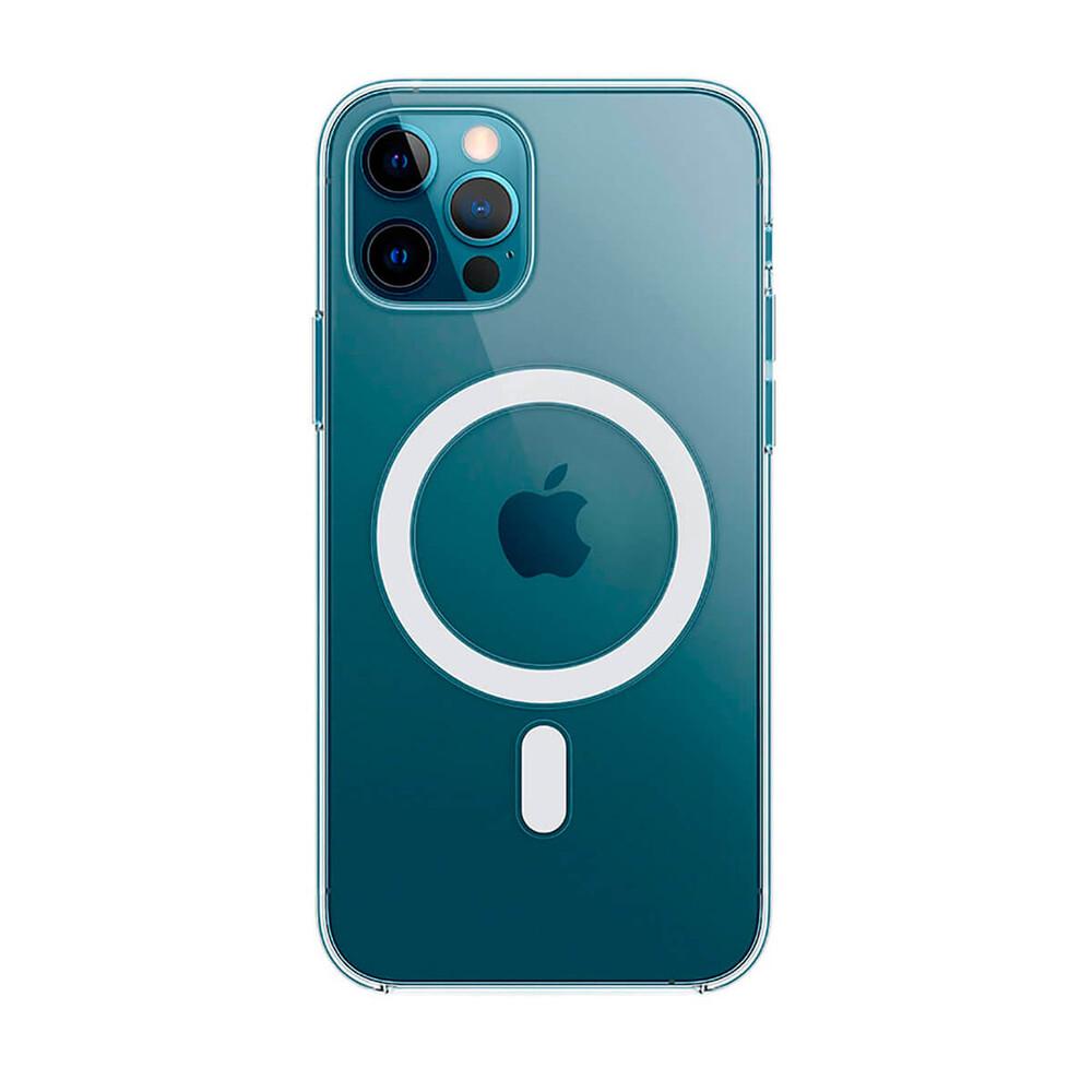 Купить Прозрачный чехол Apple Clear Case MagSafe (MHLN3) для iPhone 12 Pro Max