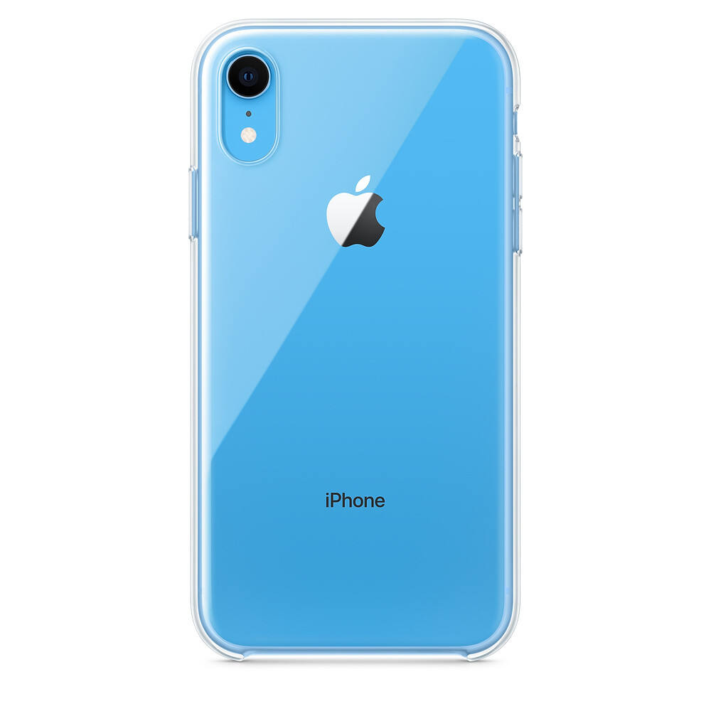 Чехол Apple Clear Case (MRW62) для iPhone XR