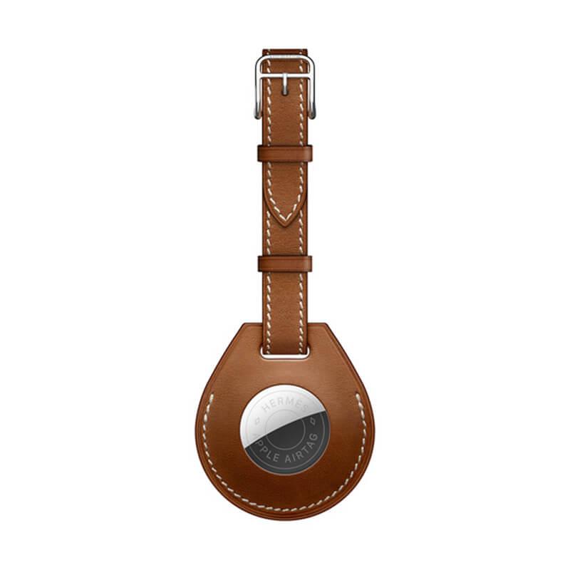 Купить Чехол-ремешок Apple Hermès Luggage Tag (MX8A2) с AirTag