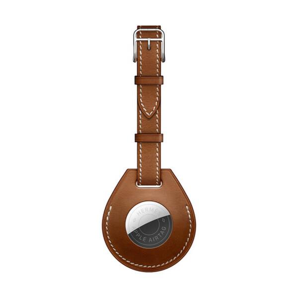 Чехол-ремешок Apple Hermès Luggage Tag (MX8A2) с AirTag