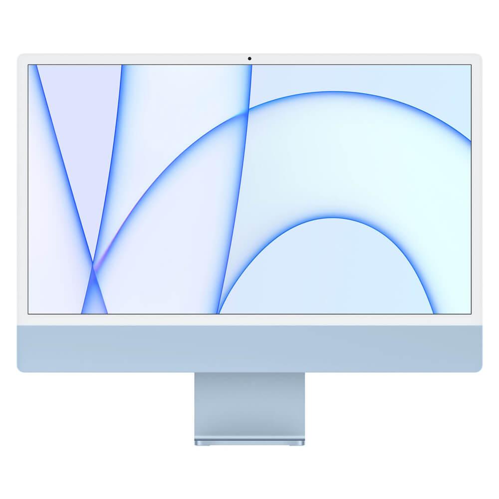 """Купить Apple iMac 24"""" M1 (2021) 256GB Blue (MJV93)"""