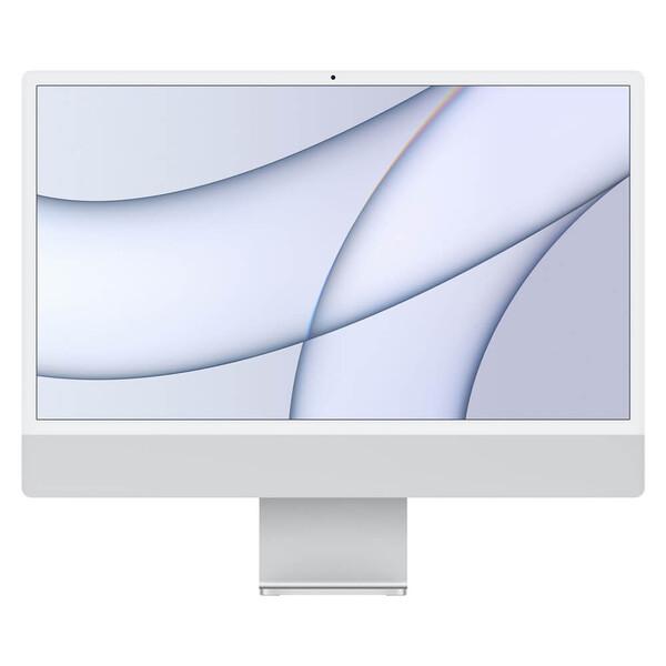 "Apple iMac 24"" M1 (2021) 256GB Touch ID Silver (MGPC3)"