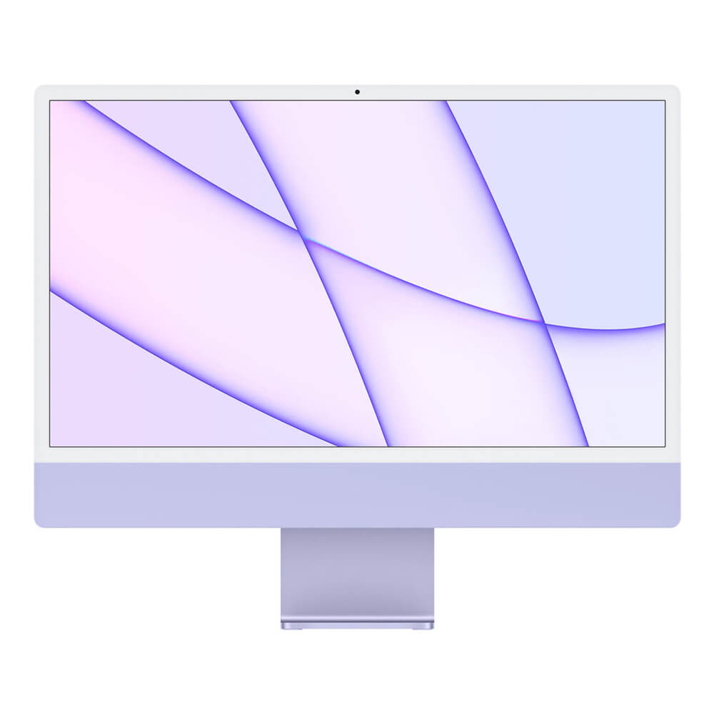 "Купить Apple iMac 24"" M1 (2021) 256GB Touch ID Purple"