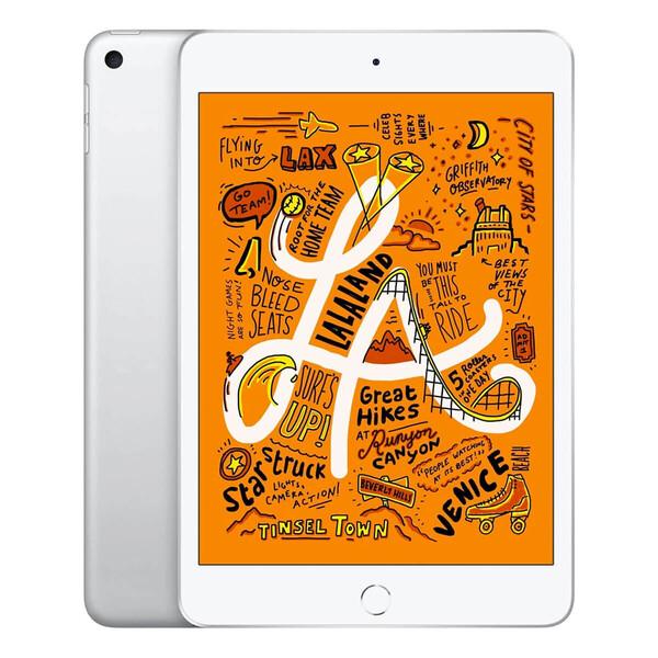 Apple iPad Mini 5 (2019) Wi-Fi + Cellular 256Gb Silver (MUXD2RK/A) Официальный UA