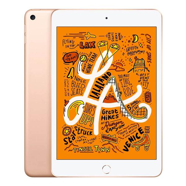 Apple iPad Mini 5 (2019) Wi-Fi + Cellular 256Gb Gold (MUXP2   MUXE2)