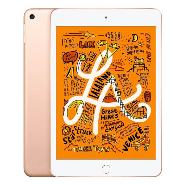 Apple iPad Mini 5 (2019) Wi-Fi + Cellular 64Gb Gold (MUXH2   MUX72)