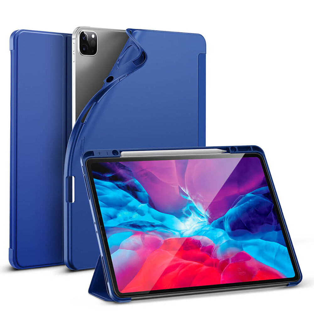 """Купить Чехол-книжка ESR Rebound Case Pencil Holder Blue для Apple iPad Pro 12.9"""" (2020)"""
