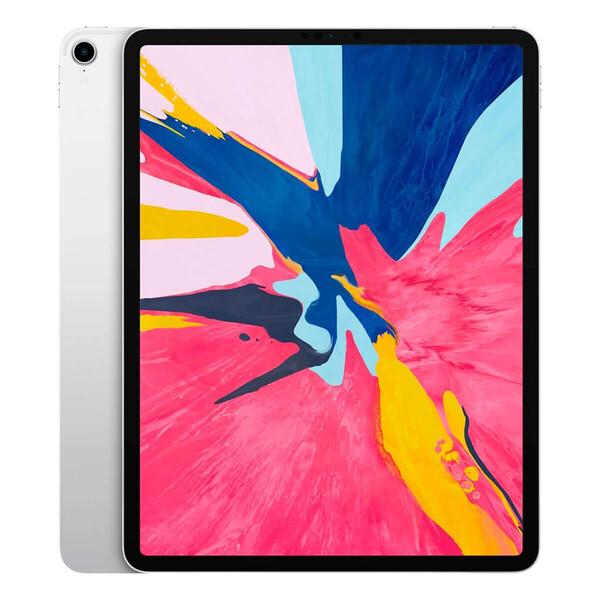 "Apple iPad Pro 12.9"" (2018) Wi-Fi + Cellular 64GB Silver (MTHP2)"