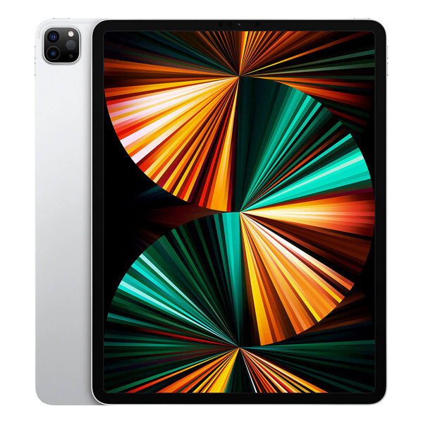 "Apple iPad Pro 12.9"" M1 (2021) Wi-Fi+Cellular 128GB Silver (MHR53RK/A) Официальный UA"