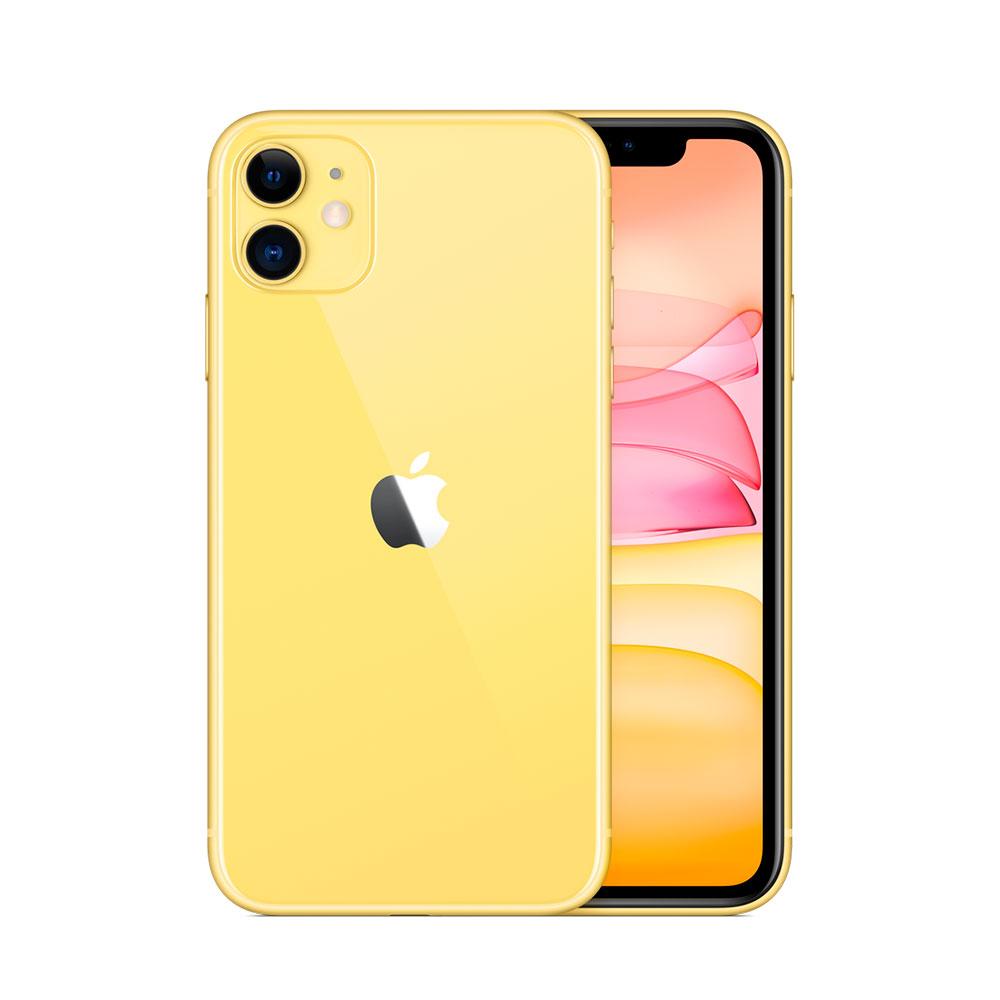 Купить Apple iPhone 11 64Gb Yellow (MWLA2)