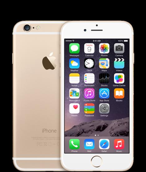 Apple iPhone 6 128GB Gold Refurbished
