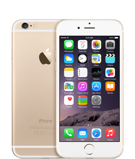 Apple iPhone 6 64GB Gold Refurbished