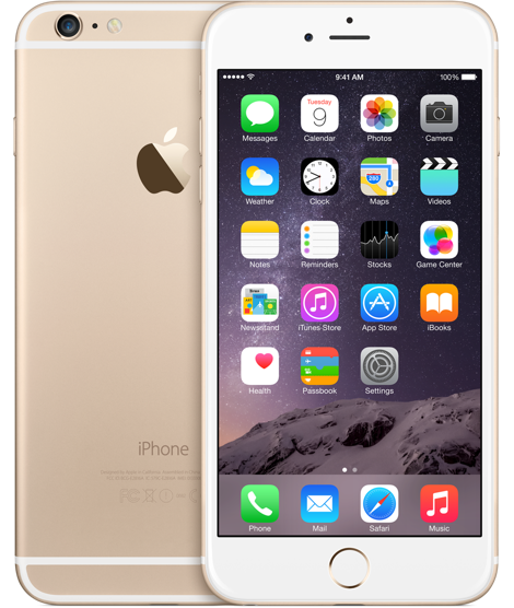 Apple iPhone 6 Plus 128GB Gold Refurbished
