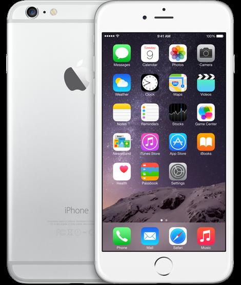 Apple iPhone 6 Plus 64GB Silver Refurbished