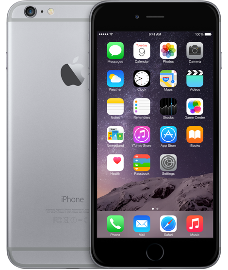 Apple iPhone 6 Plus 16GB Space Gray Refurbished