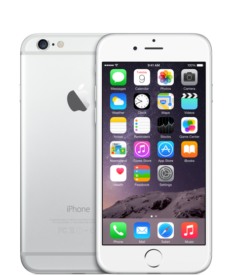 Apple iPhone 6 128GB Silver Refurbished
