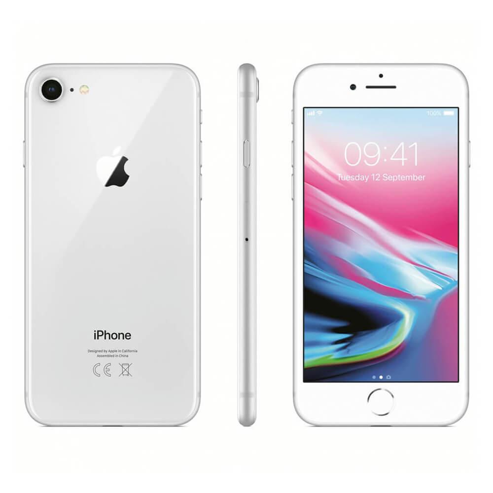 Купить Apple iPhone 8 64 Gb Silver (MQ6L2) Б | У