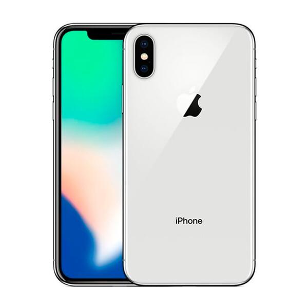 Apple iPhone X 256Gb Silver (MQAG2)