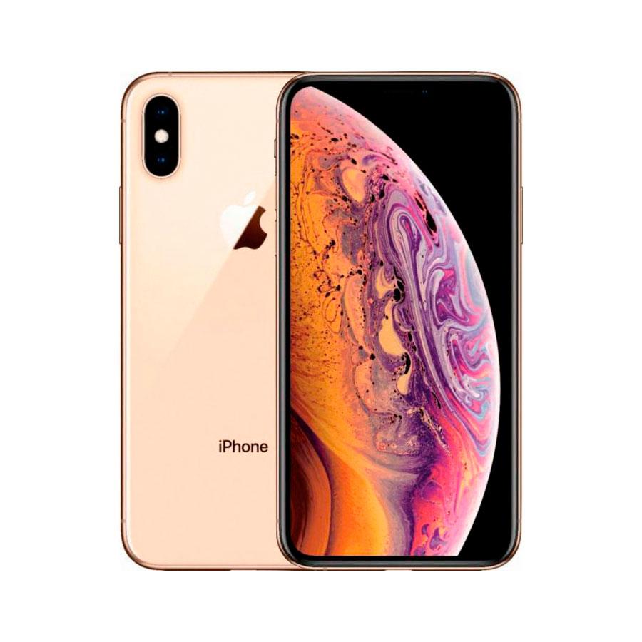 Купить Apple iPhone ХS Max Dual Sim 512Gb Gold (MT792)